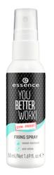 Essence You Better Work FIXING SPRAY Spray utrwalający 50ml