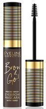 Eveline Brow and Go Tusz do brwi 02 Dark 6ml