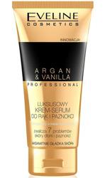 Eveline Cosmetics Argan&Vanilla Luksusowy krem-serum do rąk i paznokci 100ml