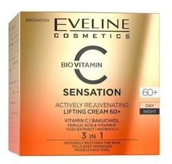 Eveline Cosmetics C-SENSATION Aktywnie odmładzający krem liftingujący 60+ 50ml