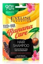 Eveline Cosmetics Food for Hair szampon do włosów Banana Care 20ml