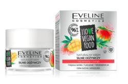 Eveline Cosmetics I LOVE VEGAN FOOD Odżywczy krem do twarzy Olej konopny/Mango 50ml