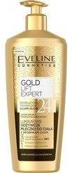 Eveline Cosmetics Luxury Expert Luksusowe odżywcze mleczko z drobinkami złota do ciała 350ml