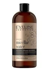 Eveline Cosmetics Organic Gold Oczyszczająco-nawilżająca woda micelarna 500ml