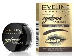 Eveline Cosmetics Pomada do brwi SOFT BROWN