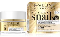 Eveline Royal Snail Skoncentrowany krem na dzień i na noc silnie liftingujący 50+ 50ml