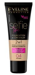 Eveline Selfie Time Kryjąco-nawilżający podkład i korektor 04 Natural 30ml
