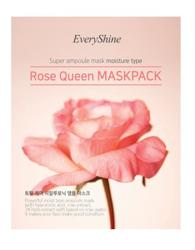 EveryShine Rose Queen Mask Pack Pink Moisture Type Maseczka do twarzy w płachcie