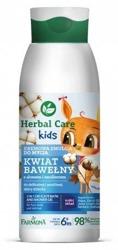 Farmona Herbal Care Kids Kremowa emulsja do mycia Kwiat Bawełny 400ml