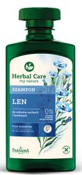 Farmona Herbal Care LEN Szampon do włosów suchych i łamliwych 330ml