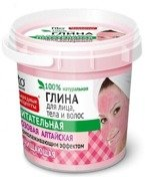 Fitokosmetik Wiaderko Różowa glinka Ałtajska do twarzy, ciała i włosów 155ml