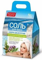 Fitokosmetik sól do kąpieli antycellulitowa FITO96 z Jeziora Baskunczak 500g