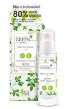 FlosLek GREEN for Skin serum do twarzy z Natką 3w1 30ml
