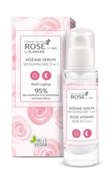 FlosLek ROSE for skin Różane ogrody Różane serum witaminowe 3w1 30ml