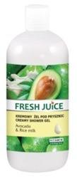 Fresh Juice Żel pod prysznic Avocado&Rice Milk 500ml