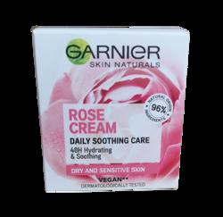 GARNIER BOTANICAL Rose Nawilżający krem do twarzy z wodą różaną 50ml