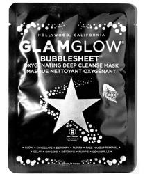 GLAMGLOW Bubblesheet Oxygenating deep cleanse mask Oczyszczająca maska w płachcie