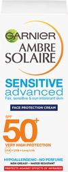 Garnier Ambre Solaire UV Face Protection Cream SPF50+ Krem ochronny do twarzy 50ml