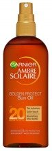 Garnier Ambre Solaire UV SPF20 Golden Protect Oil Olejek ochronny do opalania 150ml