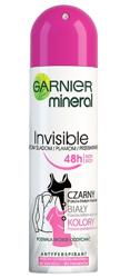 Garnier Invisible Black White Colors Antyperspirant w sprayu 150ml