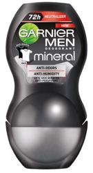 Garnier MEN Roll on Mineral Invisible 72h Dezodorant w kulce dla mężczyzn 50ml