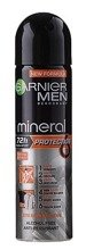Garnier MEN Spray Mineral Protection 72h Dezodorant w sprayu dla mężczyzn 150ml