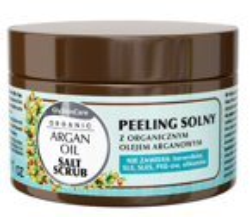GlySkinCare Argan Oil Peeling solny z organicznym olejem arganowym 400g