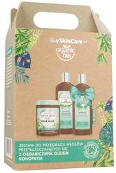 GlySkinCare Hemp Seed Oil Zestaw do pielęgnacji włosów cienkich i delikatnych