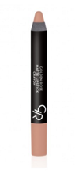 Golden Rose Matte Crayon Lipstick - Matowa pomadka do ust w kredce 15