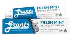 Grants of Australia Fresh Mint Odświeżająca naturalna pasta do zębów 110g