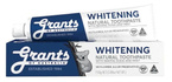 Grants of Australia Whitening Wybielająca naturalna pasta do zębów 110g