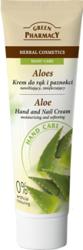 Green Pharmacy Aloes Krem do rąk i paznokci nawilżająco-zmiękczający 100ml