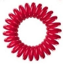 Hair Springs Czerwona gumka do włosów SPRĘŻYNA 1szt.