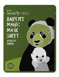 Holika Holika Baby Pet Magic Mask Sheet Vitality Panda - Maseczka do twarzy