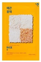 Holika Holika Mask Sheet Pure Essence Rice - Maseczka do twarzy w płachcie z ekstraktem z ryżu 20ml