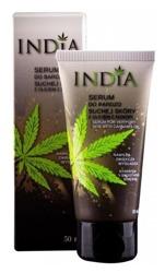 INDIA COSMETICS Serum z olejem z konopi do bardzo suchej skóry 50ml