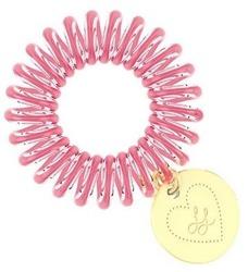 INVISIBOBBLE Różowa gumka do włosów z serduszkiem Lisa & Lena