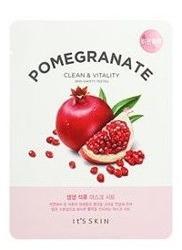 IT'S SKIN The Fresh Mask Sheet Pomegranate - Rewitalizująca maska do twarzy w płachcie 20g
