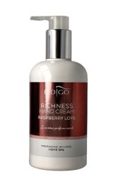 Indigo Richness Hand Cream Raspberry Love  - Krem do rąk 300ml