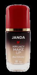 JANDA Kryjący make-up fluid fleksyjny 00 Beż bardzo jasny 30ml