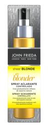 John Frieda Sheer Blonde Go Blonder Lightening Spray Rozjaśniający spray do włosów blond 100ml
