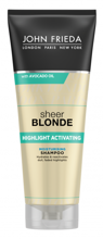 John Frieda Sheer Blonde Highlight Activating Shampoo Szampon do włosów blond 250ml