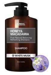 KUNDAL Hair Shampoo Szampon do włosów WHITE MUSK 500ml