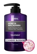 KUNDAL Honey&Macadamia Treatment CHERRY BLOSSOM Odżywka do włosów Kwiat wiśni 500ml