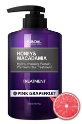 KUNDAL Honey&Macadamia Treatment PINK GRAPEFRUIT Odżywka do włosów Różowy grapefruit 500ml