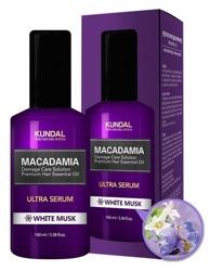 KUNDAL Macadamia Ultra Serum White Musk Serum do włosów Białe piżmo 100ml