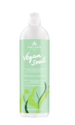 Kallos Vegan Soul Odżywczy szampon z proteinami roślinnymi i olejkiem z awokado 1000ml