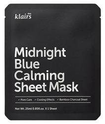 Klairs Midnight Blue Calming Sheet Mask Kojąca maska w płachcie 25ml