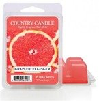 Kringle Country Candle 6 Wax Melts Wosk zapachowy -  Grapefruit Ginger