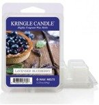 Kringle Country Candle 6 Wax Melts Wosk zapachowy - Lavender Blueberry